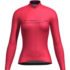 Orbea Advanced Thermal Maglia jersey a maniche lunghe Donna, rosso
